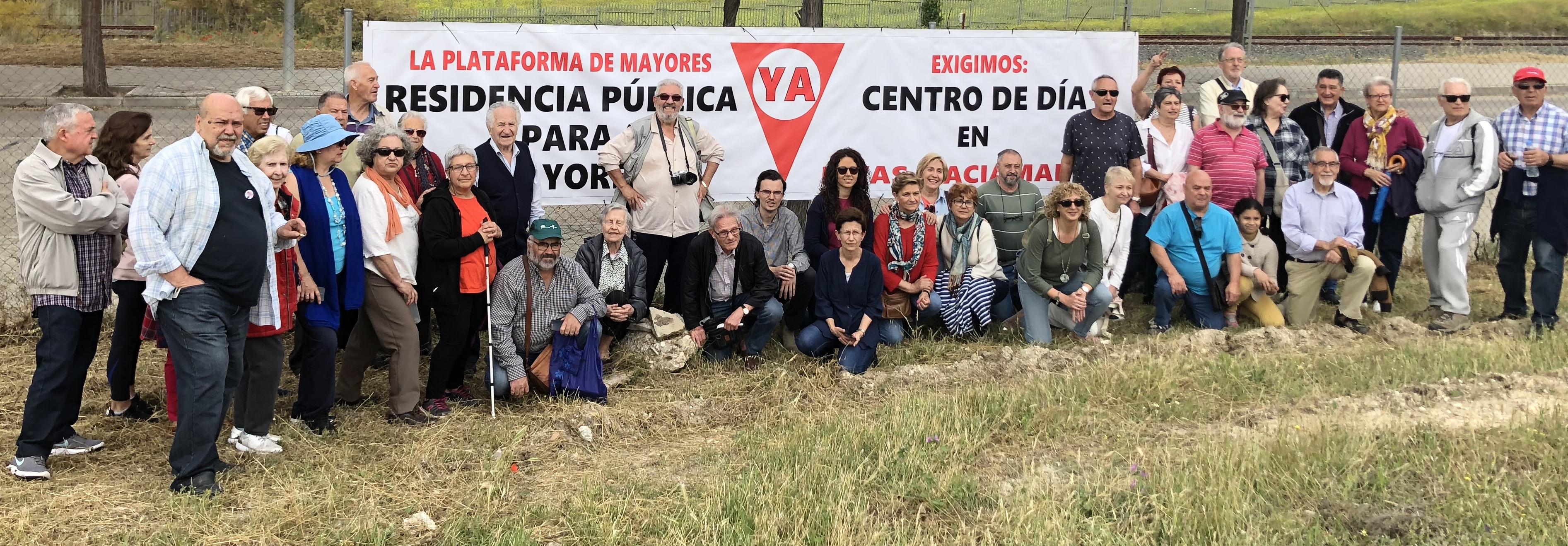Por una residencia y Centro de Día públicos en Rivas