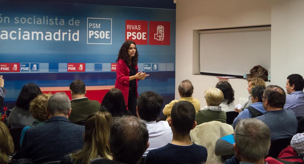 Mónica Carazo, candidata socialista a la alcaldía de Rivas Vaciamadrid