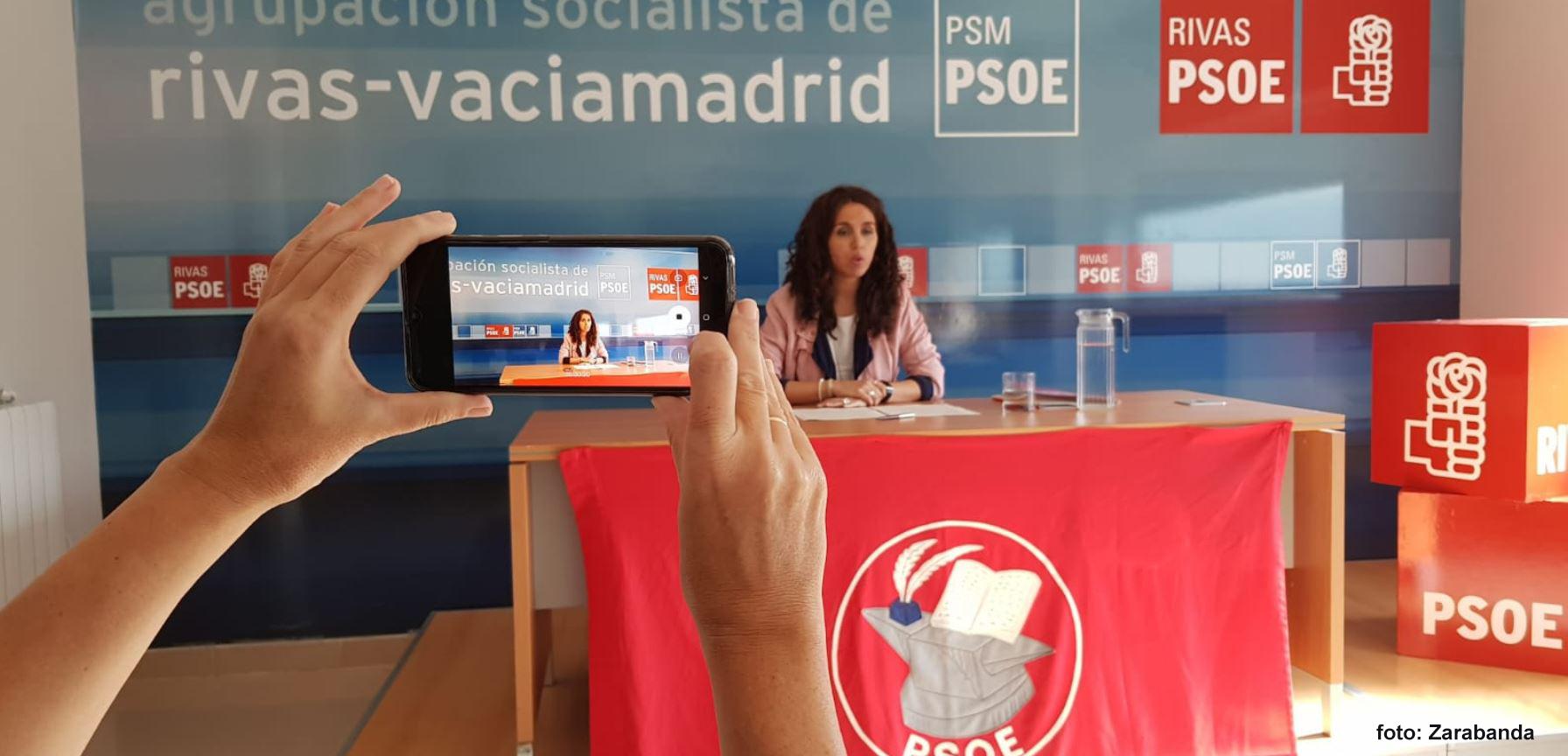 El PSOE Rivas entiende que IU-Equo-Más Madrid da por finalizada la mesa de negociación.