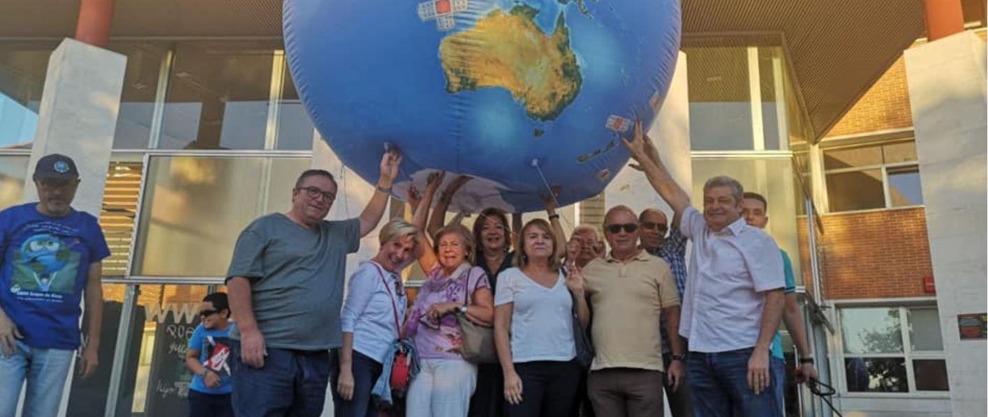 PSOE Rivas en la concentración en apoyo a la Huelga Mundial por el Clima