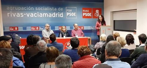 Aprobado por unanimidad el Informe de Gestión de la Comisión Ejecutiva del PSOE Rivas