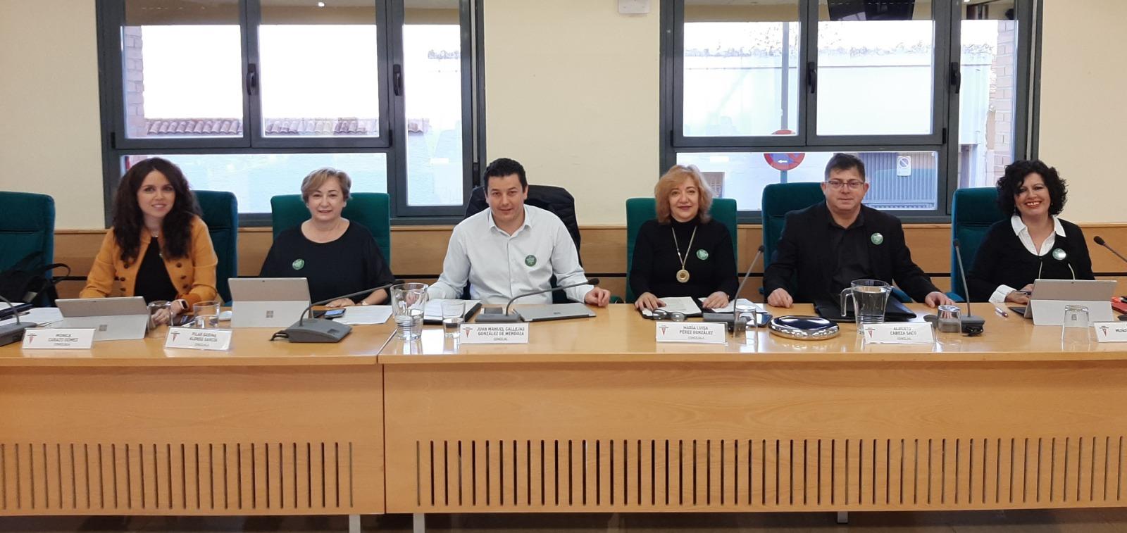 La participación del Consejo Municipal de Mayores o el mantenimiento de los espacios verdes de la ciudad, preguntas en el Pleno Municipal.